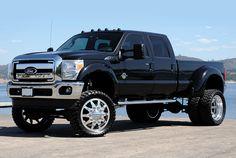 Lift and stance bruh. Silverado Truck, Dually Trucks, Ford Pickup Trucks, Car Ford, Lifted Trucks, Dually Rims, Dually Wheels, F350 Dually, Ford Diesel