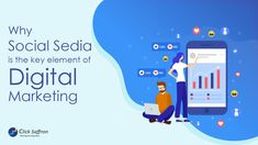 Why Social Media is the Key Element Of Digital Marketing P's Of Marketing, Social Media Marketing Companies, Social Media Branding, Search Engine Marketing, Digital Marketing Strategy, Mobile Marketing, Digital Marketing Services, Facebook Marketing, Internet Marketing