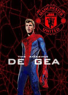 The Amazing De Gea. Manchester United Wallpaper, Premier League Champions, Manchester United Football, Europa League, Man United, Football Players, How To Look Better, Soccer, The Unit