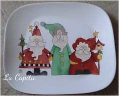 Mary Christmas, Christmas Dishes, Christmas Crafts, Christmas Decorations, Ceramic Painting, Diy Painting, Pottery Painting Ideas Easy, Christmas Dinnerware, Easy Paintings