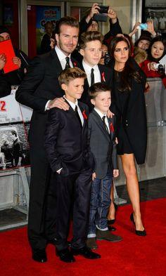 Las familias más guapas de la 'red carpet' - Foto 3