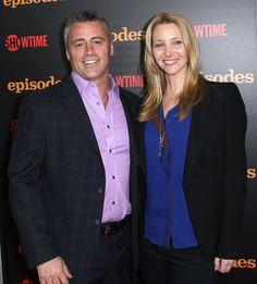 Matt  LeBlanc e Lisa Kudrow  em première da segunda temporada da série 'Episodes' em Los Angeles, nos EUA (Foto: Getty Images/ Agência)