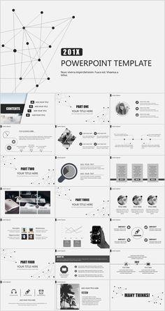 22 Best gray Business Design PowerPoint templates - Powerpoint Templates - Ideas of Powerpoint Templates - 22 Best gray Business Design PowerPoint templates Powerpoint Templates Download, Business Powerpoint Templates, Powerpoint Presentation Templates, Keynote Template, Infographic Powerpoint, Powerpoint Themes, Flyer Template, Ppt Design, Design Blog