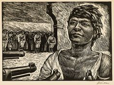 What May Come: The Taller de Gráfica Popular and the Mexican Political Print-- On view until October 12, 2014.Leopoldo Mendez. Firing Squad, 1950. Gift of Dorothy Braude Edinburg to the Harry B. and Bessie K. Braude Memorial Collection.