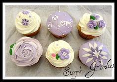 Affectionate Mother's Day Cupcake Ideas_02
