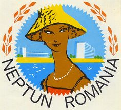 Untitled | Flickr - Photo Sharing! Luggage Stickers, Luggage Labels, Vintage Luggage, Vintage Travel Posters, Romanian People, Travel Attire, Central And Eastern Europe, Vintage Hotels, Graphic Design