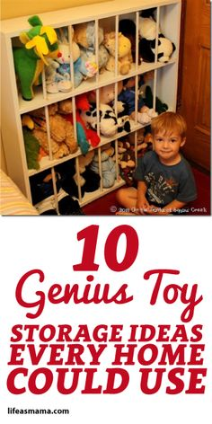 10 Genius Toy Storage Ideas Every Home Could Use!