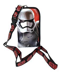 "Star Wars ""The Force Awakens"" Storm Trooper Keychain Lanyard Id Ticket Holder for Most Phones- Black (BK-STORM TROOPER)"