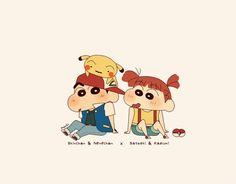 Sinchan Wallpaper, Cartoon Wallpaper Iphone, Cute Cartoon Wallpapers, Sinchan Cartoon, Pokemon Crossover, Crayon Shin Chan, Banner Background Images, Anime Backgrounds Wallpapers, Cartoons Love