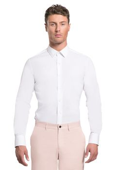 Kitts grosgrain placket shirt - Arthur Galan AG online