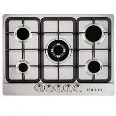 Cooktop a gás 5 Bocas Orbis com Acendimento Automático - Bivolt Furniture Top View, Types Of Furniture, Furniture Plans, Small Kitchen Furniture, Wooden Kitchen, Metal Chairs, Cool Chairs, Painting Kitchen Chairs, Cooktops