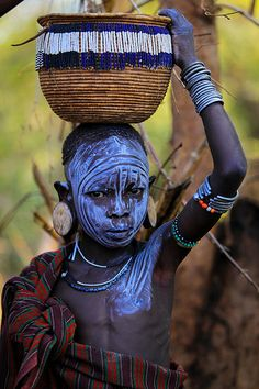 Ethiopie: la région de l' Omo; African Life, African Culture, We Are The World, People Around The World, African Image, Afrique Art, Tribal People, African Tribes, Cultural Diversity