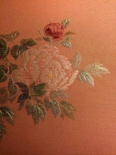 japanese embroidery,the queen of flower - Google Search
