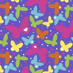 Butterflies Love Anti-Pill Fleece Fabric