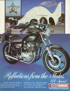 Vintage 1979 Yamaha 650 Special Motorcycles Advert  http://www.vintage-adverts.com/