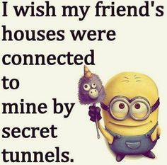 Most memorable quotes from Minions, a movie based on film. Find important Minions Quotes from film. Minions Quotes about Best Quotes Minion and Funny Yet Nonsense Minion Quotes. Best Friend Quotes Funny, Best Friends Funny, True Friends, Funny Quotes, Best Friend Stuff, Great Friends Quotes, Quotes Quotes, Cute Bff Quotes, Besties Quotes