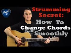 How To Change Chords Quickly And Easily Using This Technique. Beginner G...