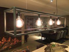 Lamp Rimini zwart staal - Verlichting - Collectie - Looiershuis