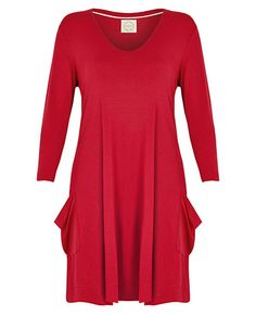 Trapeze Dress Cherry