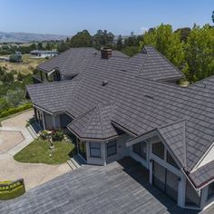 Residential Metal Roofing | Consider metal for your new roof Metal Roofing Systems, Roofing Materials, Residential Metal Roofing, Roof Cap, Glass Shower Enclosures, Roof Design, Exercise, Building, Outdoor Decor