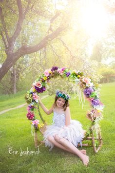 Secret Garden Themed Photoshoot- Denver Children's Photographer - Erin Jachimiak Photography