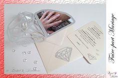 Faire-part Diamant