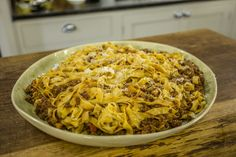 Pasta Ragu | James Martin Chef Mince Recipes, Turkey Recipes, Pasta Recipes, Cooking Recipes, Rice Dishes, Pasta Dishes, Main Dishes, Make Your Own Pasta, Food To Make
