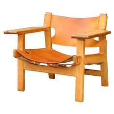 Spanish Chair by Borge Mogensen | From a unique collection of antique and modern armchairs at http://www.1stdibs.com/furniture/seating/armchairs/