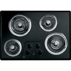 30' Coil Electric Cooktop with Four Heating Elements Upfront Controls * This is an Amazon Affiliate link. Find out more about the great product at the image link.