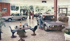 1970s BMW showroom