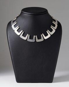 Sterling silver. L: 36 cm/ 14 1/8''