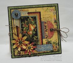 G 45 French Country Mon Amie - Scrapbook.com
