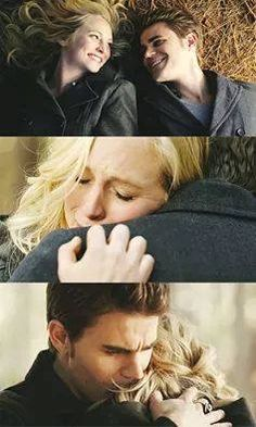 Just when Stefan and Caroline are FINALLY revealing their feelings for each other, Caroline decides to turn off her humanity - greaat.