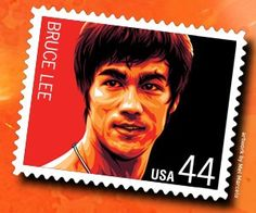 Bruce Lee's Stamps