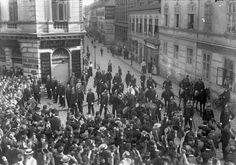 Wien Teuerungsrevolte vom 17. September 1911
