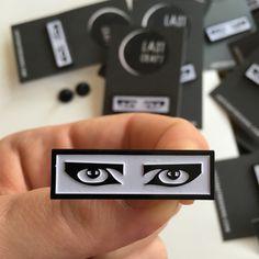 Siouxsie Sioux Eyes Enamel Pin
