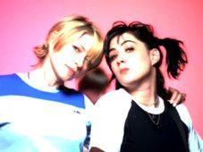 Kim Gordon and Kathleen Hanna