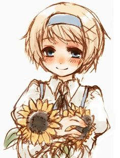 Hetalia Ukraine. Artist unknown. If you are the artist or know the artist please let me know so I can credit properly or take this art down from my board if you so wish.
