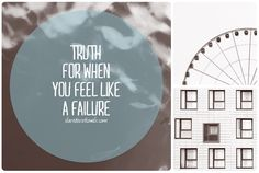 I Love Devotionals: Truth for when you feel like a failure