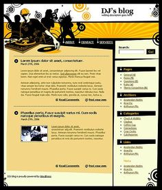 Personal Page WordPress Themes by Cerberus