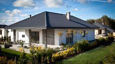 Realizacja projektu Neptun 4 : Modernistyczne domy od BIURO PROJEKTOWE MTM STYL