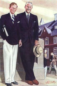 Brooks Brothers-Like Father Like Son.