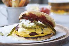 Diner hamburger