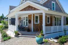 A House By The Sea - Seabrook Washington Vacation Rentals Seabrook Washington, Small Floor Plans, House By The Sea, Nautical Home, House Exteriors, Vacation Rentals, Vacation Ideas, Beach House, Cottage Rentals