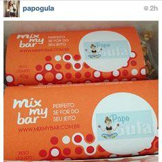 A Maria Rocha do @papogula adorou nossas barrinhas ! O blog dela tem muitas dicas de saúde e alimentação e muitas receitas! Bem bom papogula.com.br #mixmybar #barradecereal #fitness #Padgram