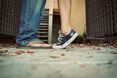 Tippy toes, kiss, love