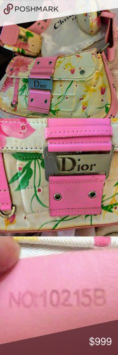 Gloriou Rare Christian Dior Pink Leather  Saddle Try finding another like her! This was second trade I ever made couple years ago on Posh. She is So beautiful, I could not mess her up by carrying.   Lol. She really is gorgeous, like a piece of art!  Trade value 2000.  #Dior rare handbag Dior Bags Shoulder Bags