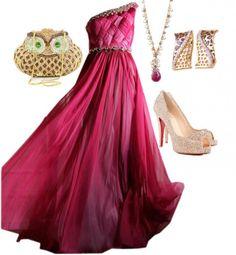 33 Wonderful Evening Polyvore Combinations - Fashion Diva Design