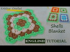 How to Crochet SHELLS BLANKET / Tutorial (English) - YouTube