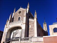 El Monasterio de San Jerónimo el Real, conocido popularmente como «Los Jerónimos», fue uno de los monasterios más importantes de Madrid, regido originariamente por… http://www.rutasconhistoria.es/loc/san-jeronimo-el-real